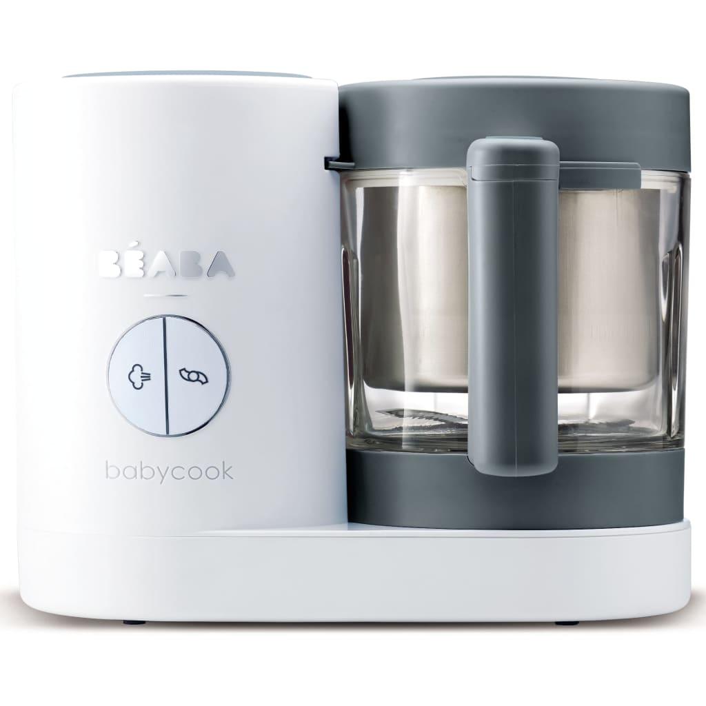 99426028 Beaba 4-in-1 Babynahrungsmittel-Gerät Babycook Neo 400 W Grau Weiß