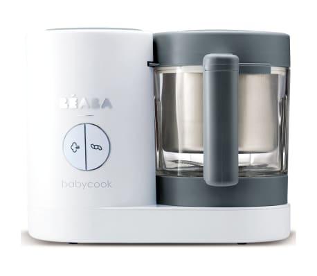 Beaba Barnmatsberedare 4-i-1 Babycook Neo 400 W grå och vit