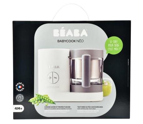 Beaba Robot culinaire 4 en 1 Babycook Neo 400 W Gris et blanc[11/12]