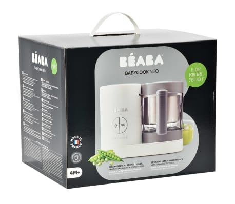 Beaba Robot culinaire 4 en 1 Babycook Neo 400 W Gris et blanc[12/12]