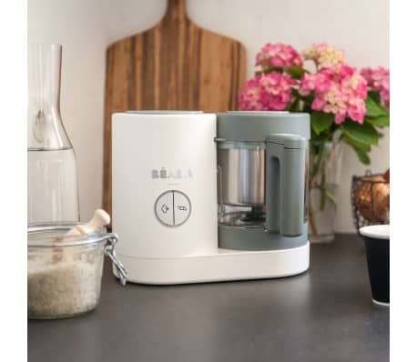 Beaba Robot culinaire 4 en 1 Babycook Neo 400 W Gris et blanc[4/12]