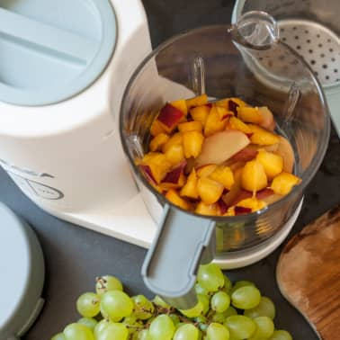 Beaba Robot culinaire 4 en 1 Babycook Neo 400 W Gris et blanc[6/12]