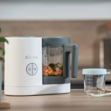 Beaba Robot culinaire 4 en 1 Babycook Neo 400 W Gris et blanc[8/12]
