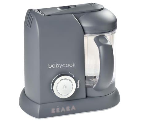 Beaba 4-i-1 Barnmatsberedare Babycook Solo 1100 ml mörkgrå