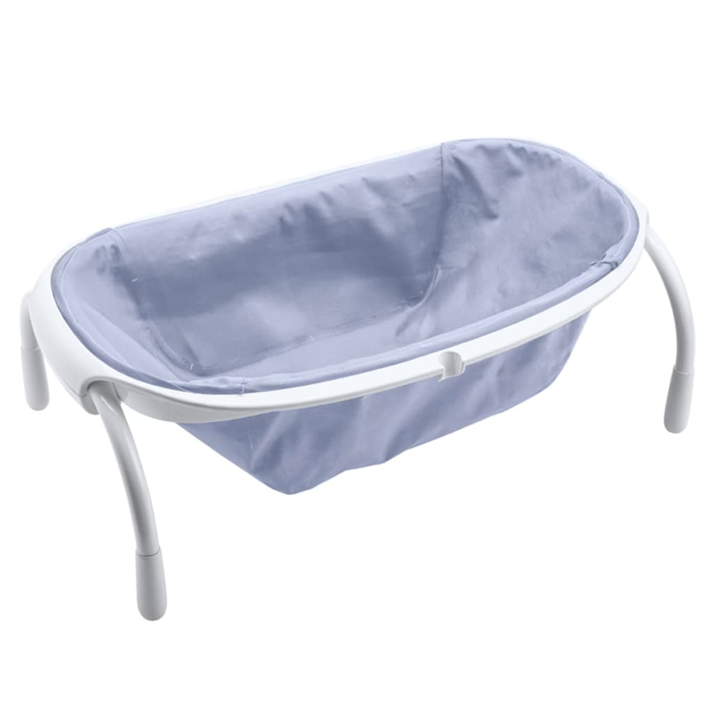 Afbeelding van Beaba Opvouwbaar babybadje pastelblauw 24 L textiel 920294
