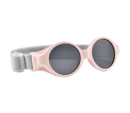 Beaba Solglasögon för barn med justerbart band rosa
