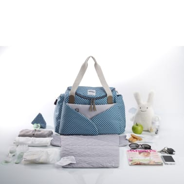 Beaba Bolso para artículos del bebé Sydney II azul[2/3]