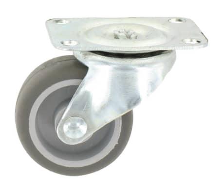 Roulette Mini-Roll à platine pivotante - 54 x 42 mm - GUITEL[2/2]
