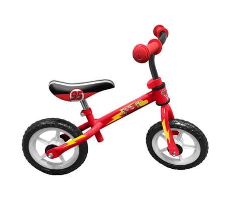 AK Sports Bicicleta sin pedales Cars roja 24 cm C893006