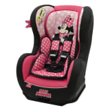 Disney Car Seat LUXE Cosmo SP Minnie 0+1 Pink and Back