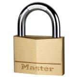 Master Lock Vorhängeschloss Massivmessing 60 mm 160EURD