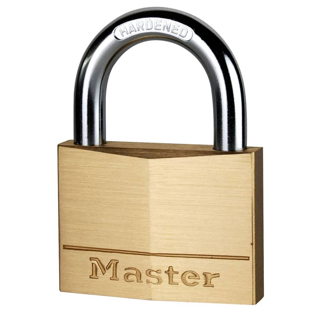 Afbeelding van Master Lock Hangslot 70 mm massief messing 170EURD