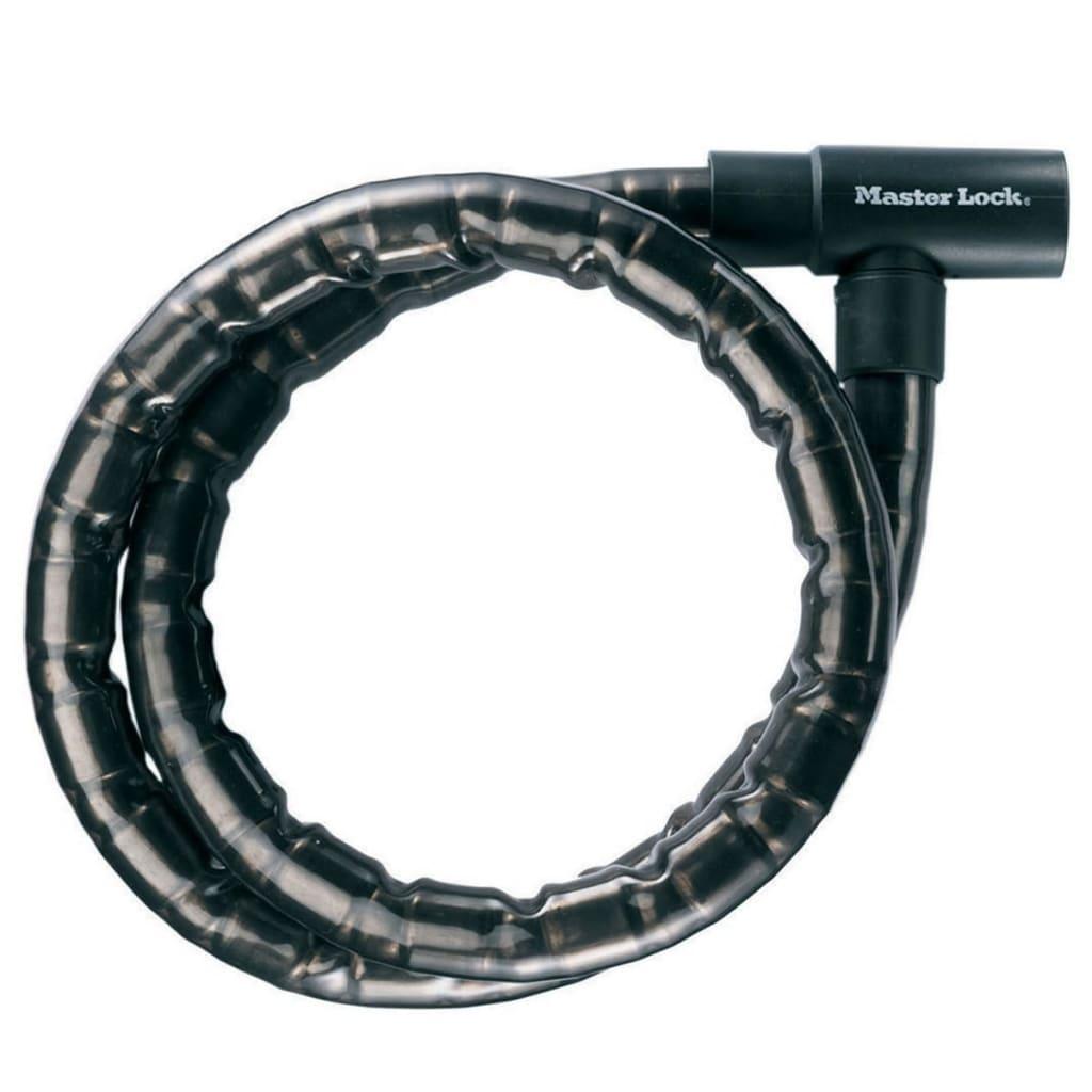 Master Lock kabellås med nøgle stål 1,2 m x 22 mm 8115EURDPS