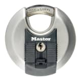 Master Lock Lucchetto a Disco Excell Acciaio Inox 70 mm M40EURD
