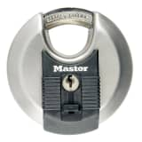 Master Lock Discus hangslot Excell 80 mm roestvrij staal M50EURD