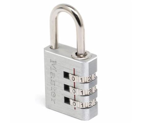 Master Lock Kombinations-Vorhängeschloss Aluminium Silber 30 mm 7630EURD[1/2]