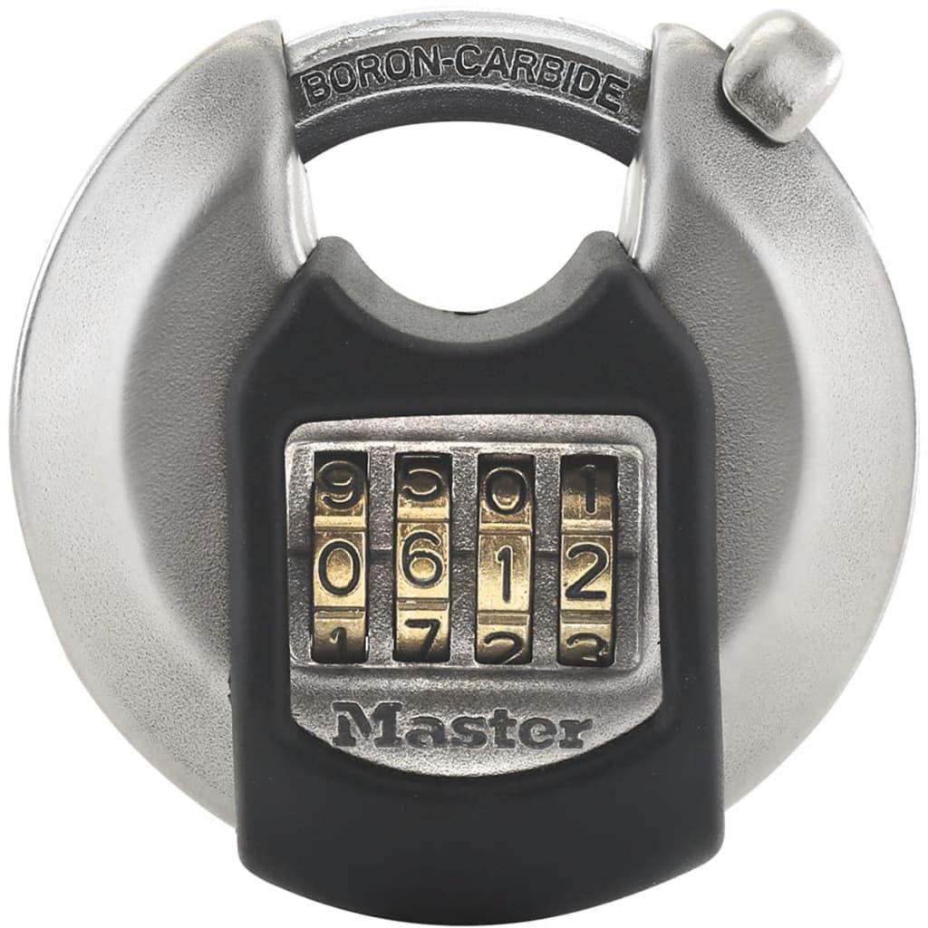 Afbeelding van Master Lock Discus hangslot Excell 70 mm roestvrij staal M40EURDNUM