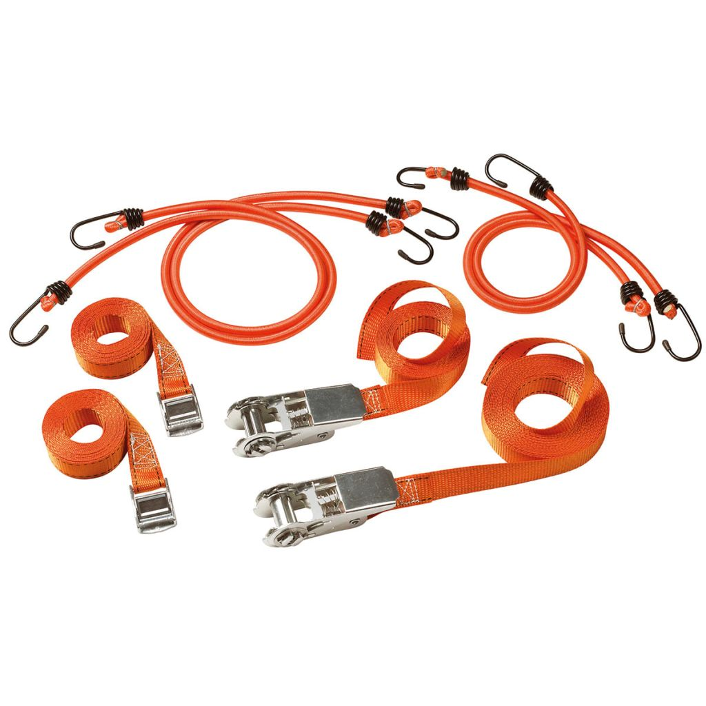 Afbeelding van Master Lock Spanband en snelbinder set FastLink 9-delig 3249EURDAT