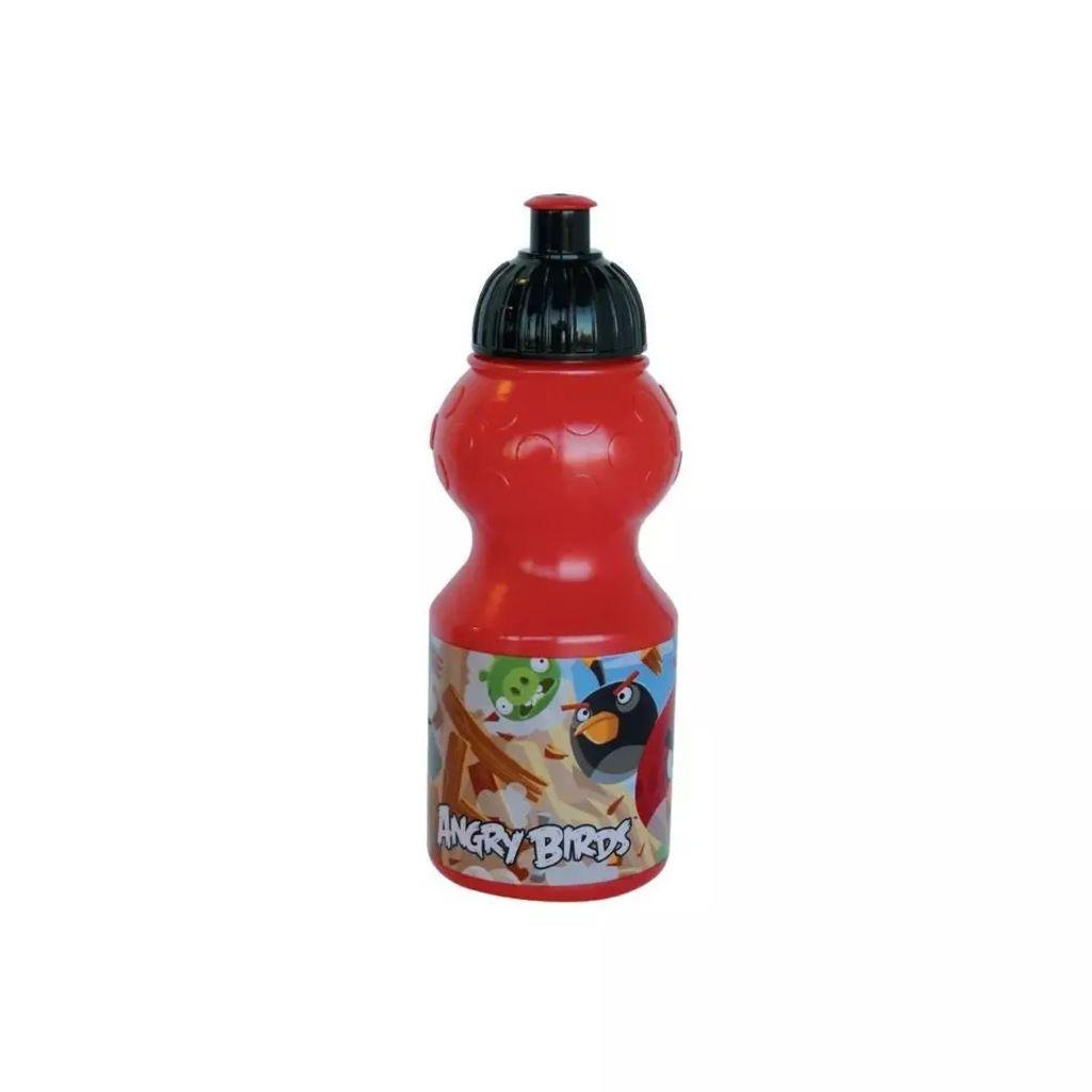 Afbeelding van Angry Birds Bidon kunststof 350 ml rood
