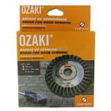 Ozaki Brosse anti mauvaises herbes (Ø 150 mm, H 35 mm, alésage 20 / 2