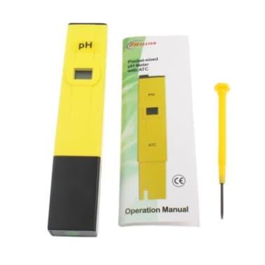PH-mètre jaune PH mètre de poche avec ATC[6/7]