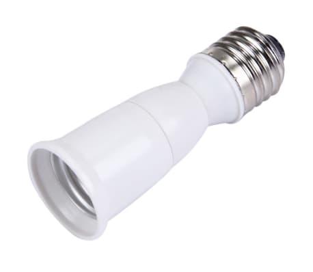 Douilles Ampoule Convertisseur d'extension d'ampoule E27 à E27, longue[3/4]
