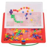 Jeu construction DIY 120pcs enfants en plastique Puzzle Spile Toy