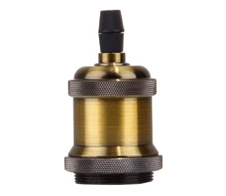 Douilles Ampoule or E27 Retro Vintage Base Lampe Ampoule, non incluse,[2/5]
