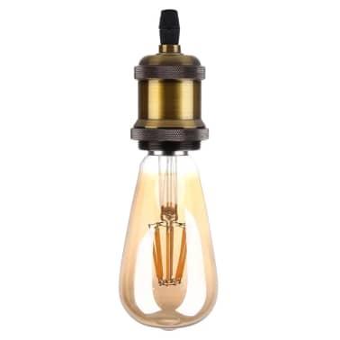 Douilles Ampoule or E27 Retro Vintage Base Lampe Ampoule, non incluse,[5/5]