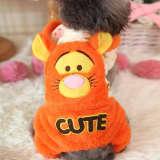 Vêtements Orange pour les petits animaux de compagnie, 2 , taille: 36