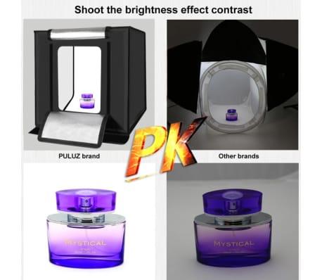 Softbox Mini studio photo 40cm Pliant Portable 30W 5500K Lumière Blanc[8/8]