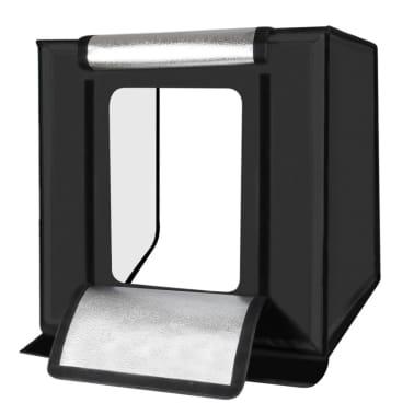 Softbox Mini studio photo 40cm Pliant Portable 30W 5500K Lumière Blanc[3/8]