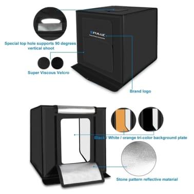Softbox Mini studio photo 40cm Pliant Portable 30W 5500K Lumière Blanc[5/8]