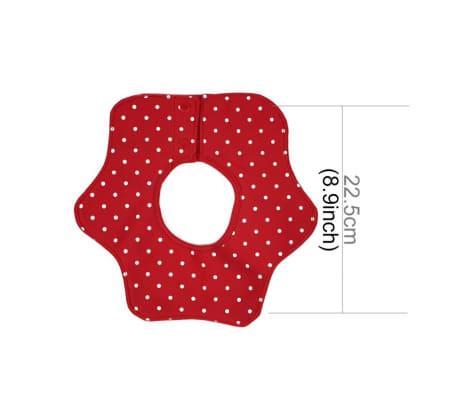 Balcherlam Bébé Quatre Couches Imperméable rouge Coton Pur 360 Degrés[2/6]