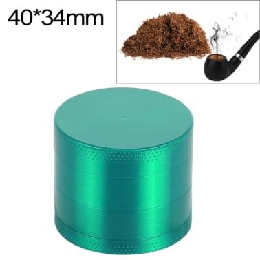 Mini-meuleuse de cigarettes en alliage de zinc à 4 couches de 40 mm en[1/7]