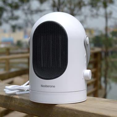 Chauffage électrique 600W hiver mini chauffe ventilateur secouant la t[1/8]
