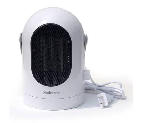 Chauffage électrique 600W hiver mini chauffe ventilateur secouant la t[2/8]