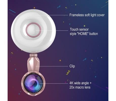 Lumière Selfie Professionnel Beauty Light Clip de remplissage du flash[4/8]