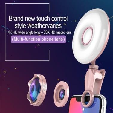 Lumière Selfie Professionnel Beauty Light Clip de remplissage du flash[6/8]
