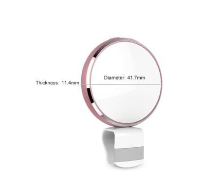 Lumière Selfie de remplissage à DEL USB Beauty Live Round avec miroir[7/8]