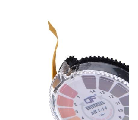Détecteur d'humidité 5Mètres 0-14 PH Papier Indicateur D'acide Alcalin[4/6]