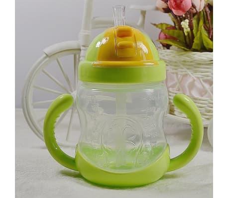 280 ml bébé bouteille enfants tasse de silicone sippy formation tasses[6/6]