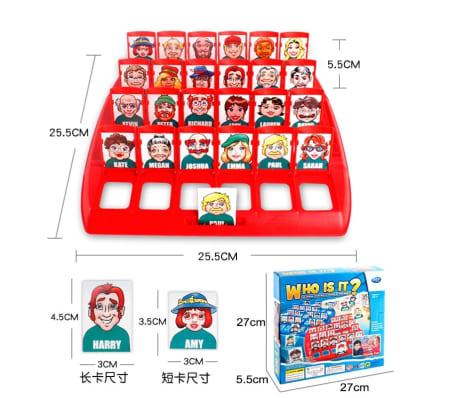 Jeu de raisonnement logique pour enfants Guess Board Puzzle Game Party[3/5]