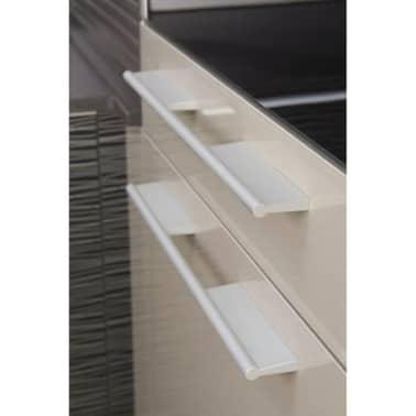 Poignée de meuble TAMM longueur de 140 mm façon inox[3/4]