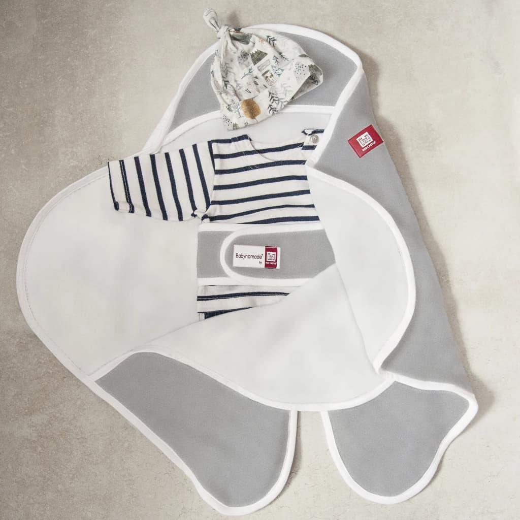 99425990 RED CASTLE Wickeldecke Babynomade Single-Fleece Grau