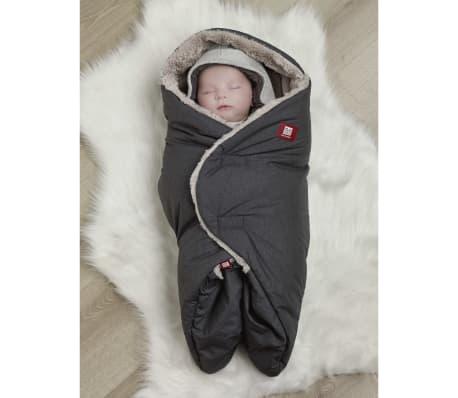RED CASTLE Wikkeldeken Babynomade Tendresse 0-6 maanden grijs[3/7]