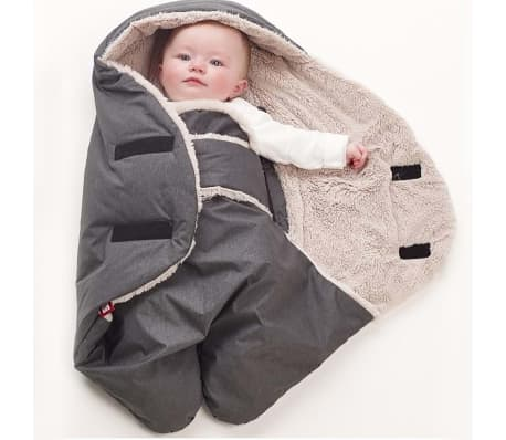 RED CASTLE Wikkeldeken Babynomade Tendresse 0-6 maanden grijs[6/7]