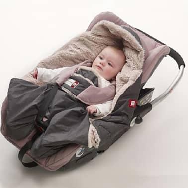 RED CASTLE Wikkeldeken Babynomade Tendresse 0-6 maanden grijs[7/7]