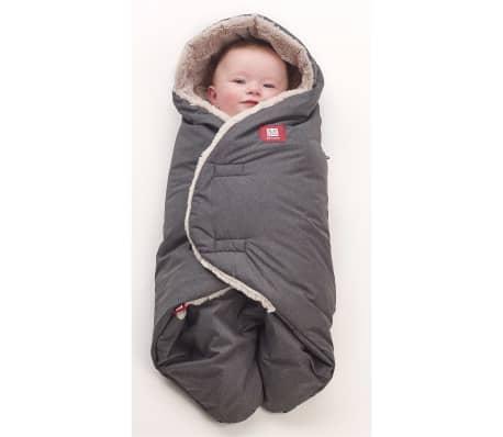 RED CASTLE Couverture pour bébé Babynomade Tendresse 6-12 mois Gris[2/7]