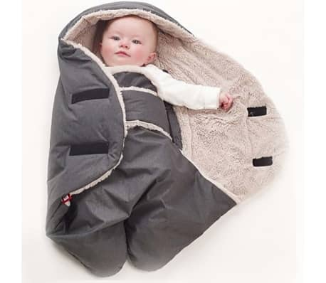RED CASTLE Couverture pour bébé Babynomade Tendresse 6-12 mois Gris[6/7]